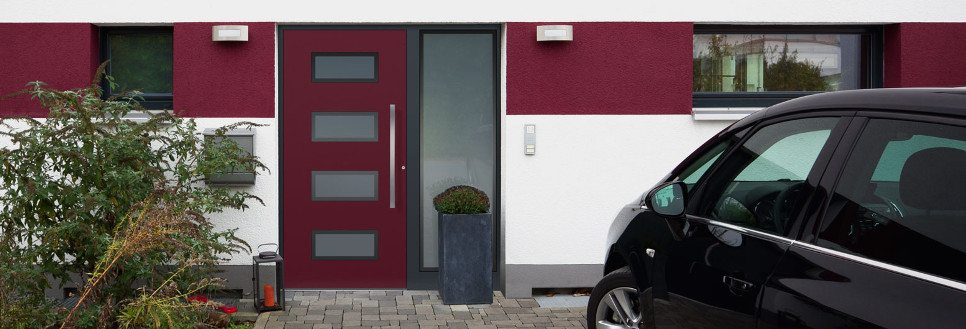 Haus mit Haustür E-Design 159 Milieu teiler