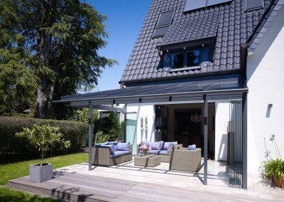 Solarlux Atrium Glashaus - Einfamilienhaus