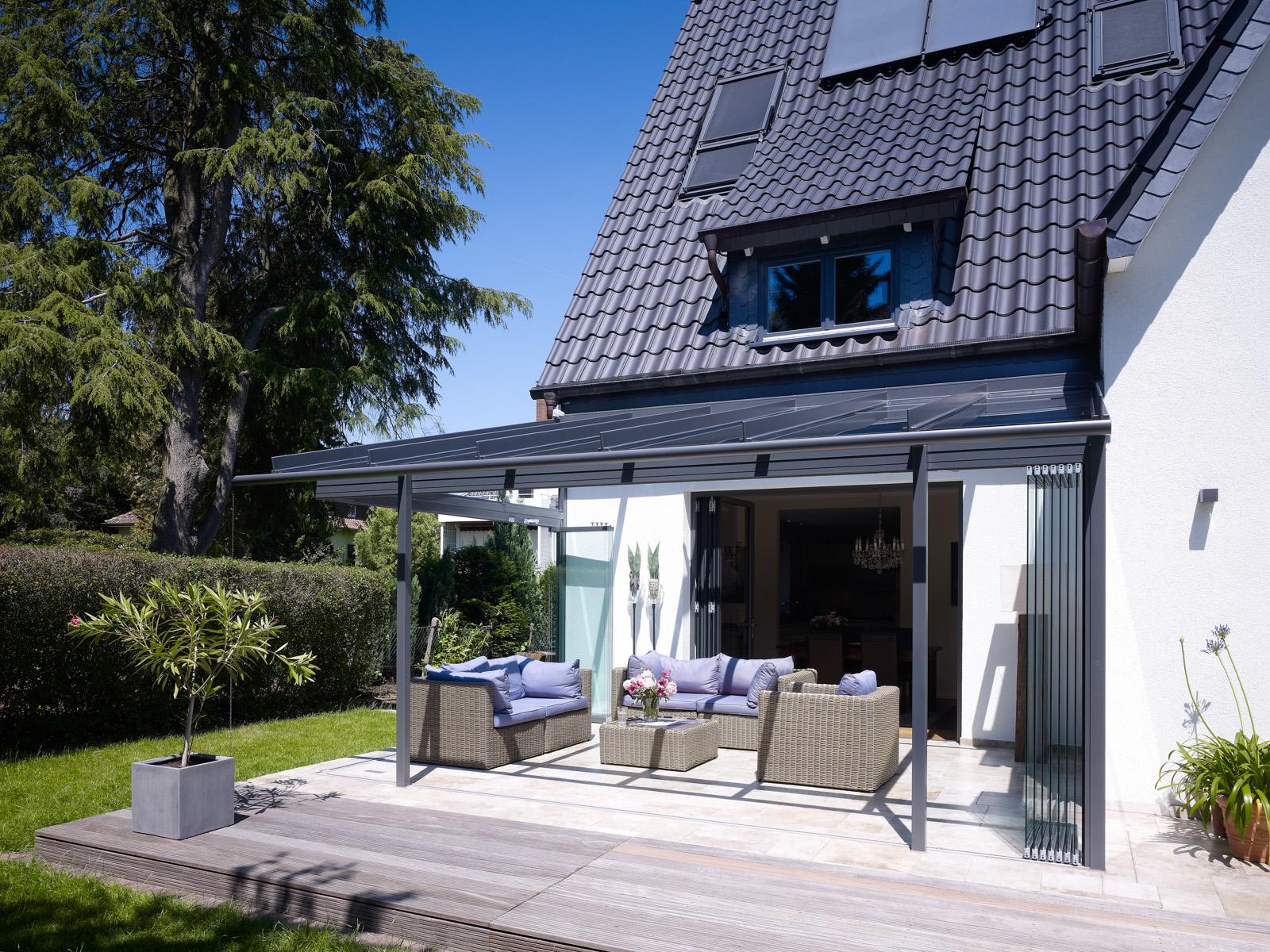 terrassen berdachung von solarlux lieblinger l beck. Black Bedroom Furniture Sets. Home Design Ideas