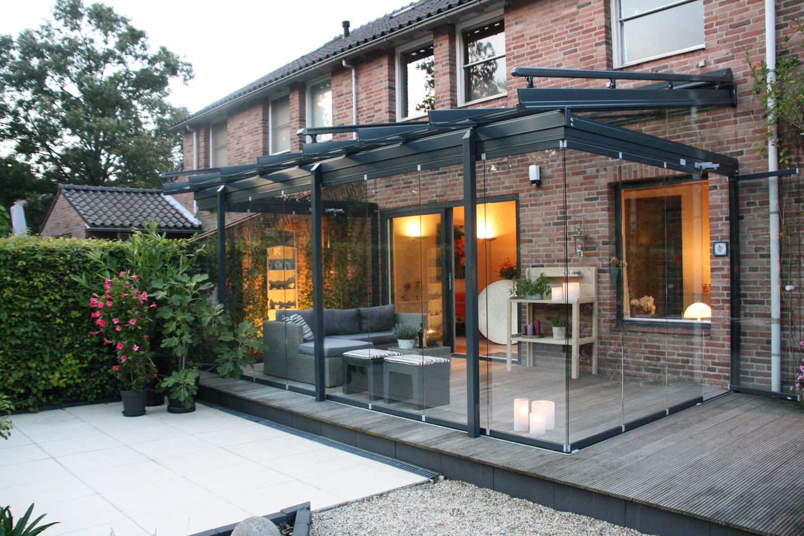 Terrassenuberdachung Von Solarlux Alu Glas Terrassendach Glashaus