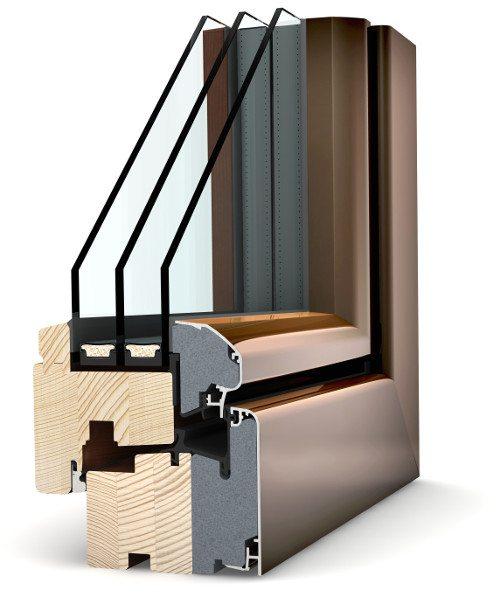 Internorm Holz-Alu Fenster HF310 ambiente
