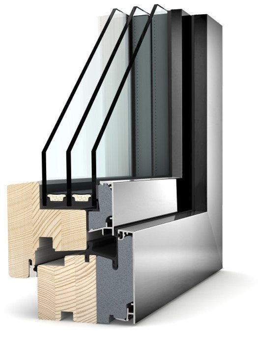 Internorm Holz-Alu Fenster HF310 home pure