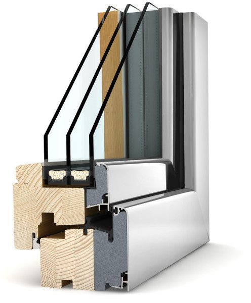 Internorm Holz-Alu Fenster HF310 home soft