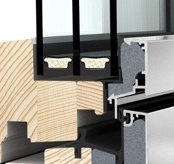 Internorm HF310 studio Verglasungssystem