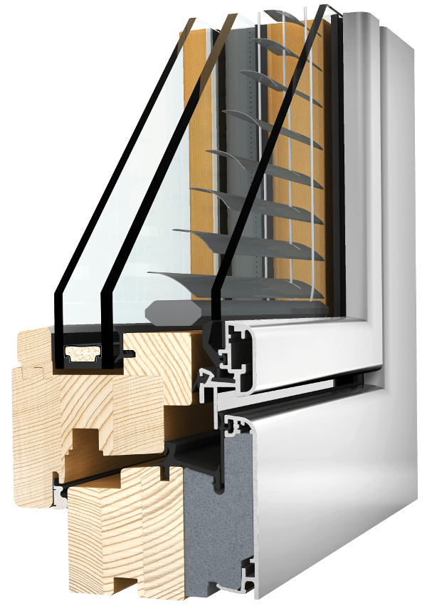 Internorm Holz-Aluminium-Verbundfenster HV350 home soft