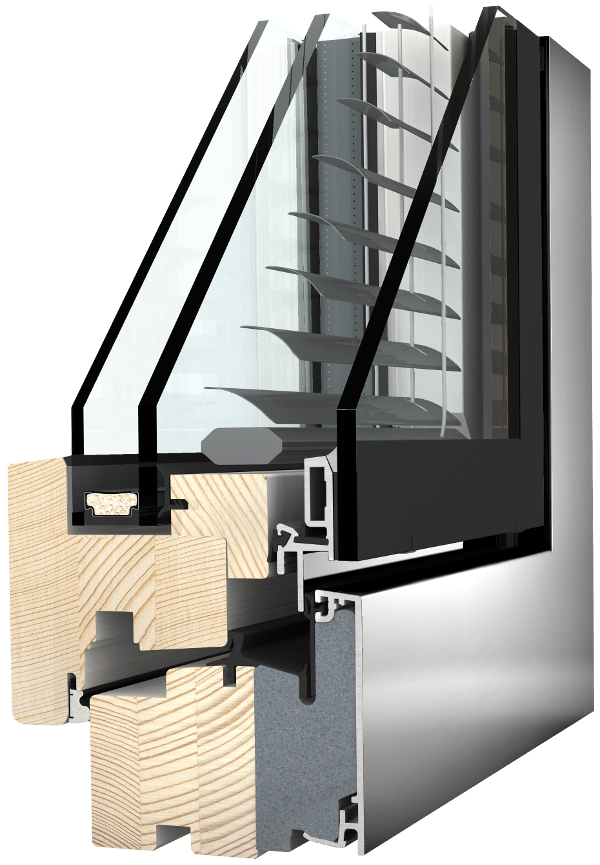 Internorm HV350 Verbundfenster studio