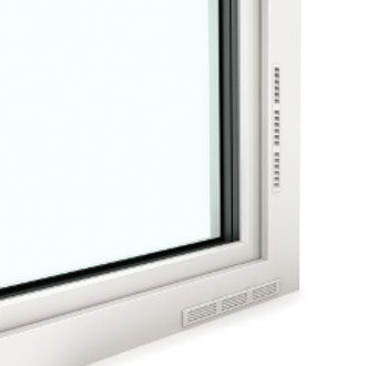 Internorm I-tec Fenster Lüftung