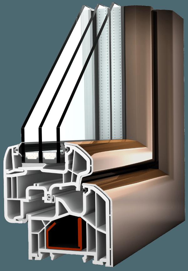 Internorm KF300 ambiente Aluabstandhalter