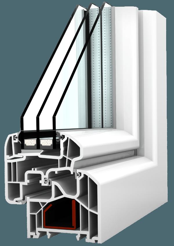 Internorm Kunststoff-Fenster KF300 ambiente Aluabstandhalter