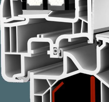 Internorm KF300 home soft Aluabstandhalter Dichtungssystem