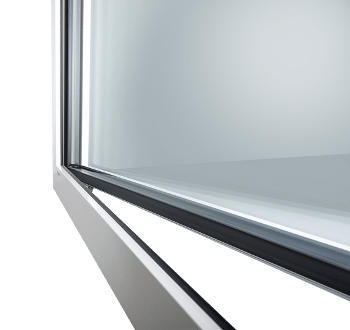 Internorm Kunststoff-Fenster KF 405 Ganzglasflügel studio