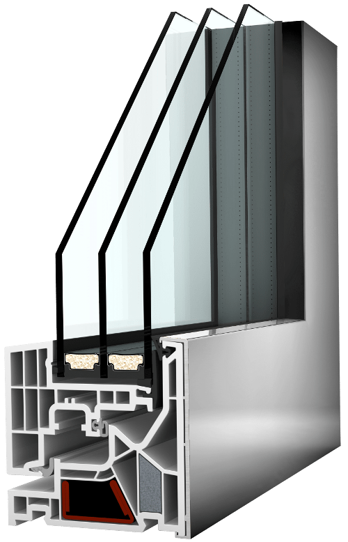 Internorm Kunststoff-Aluminium-Fenster studio