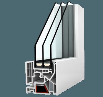 Internorm Kunststoff-Fenster KF 405 studio