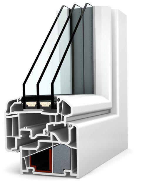 Internorm Kunststoff-Fenster KF410 ambiente