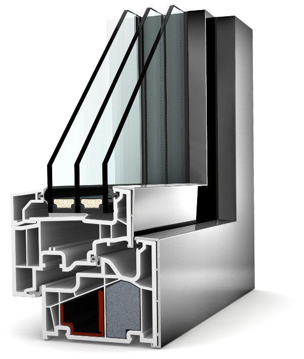 Internorm Kunstoff-Aluminium-Fenster KF410 home pure
