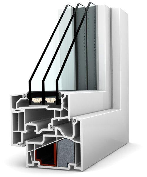Internorm Kunststoff-Fenster KF410 home pure