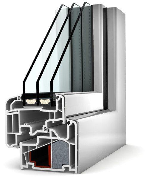 Internorm Kunstoff-Aluminium-Fenster KF410 home soft