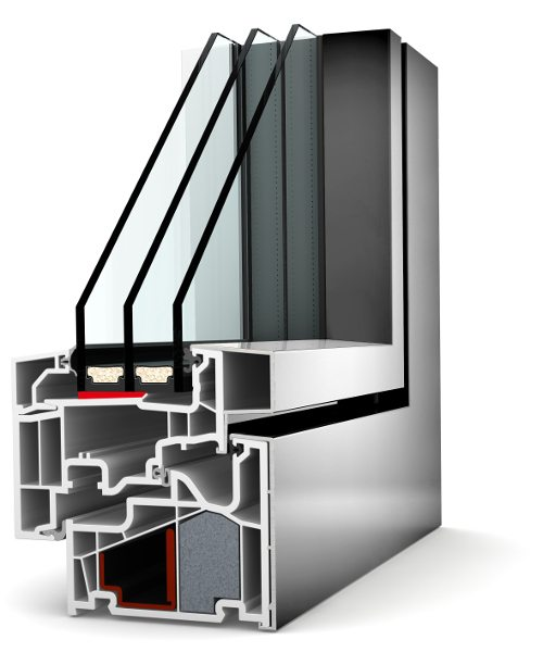Internorm Kunstoff-Aluminium-Fenster KF410 studio