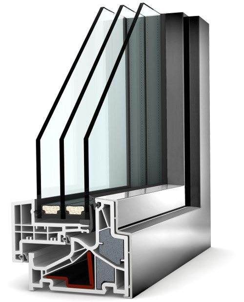 Internorm Kunstoff-Aluminium-Fenster KF500 home pure