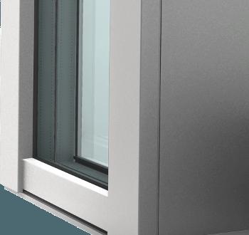 Internorm Hebeschiebetüre KS430 Ansicht Glas
