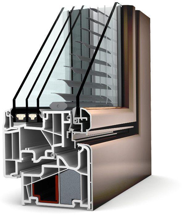 Internorm Kunststoff-Aluminium-Verbund-Fenster KV440  ambiente