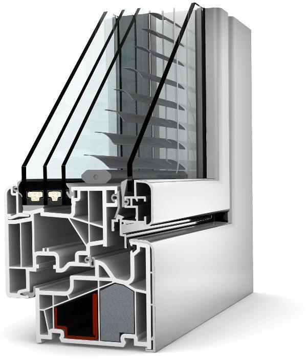 Internorm Kunststoff-Aluminium-Verbund-Fenster KV440 home soft