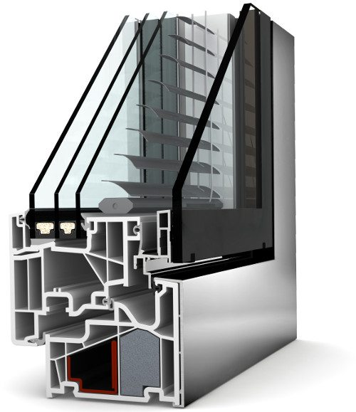 Internorm Kunststoff-Aluminium-Verbundfenster KV440 studio