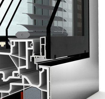 Internorm Kunststoff-Aluminium-Verbung-Fenster KV440 studio