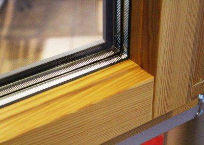 Holz-Aluminium-Fenster innen