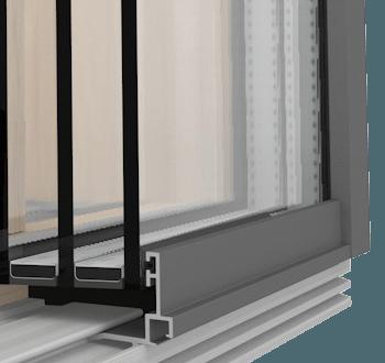 Internorm Hebeschiebetüre Holz HS330 Glasoptik