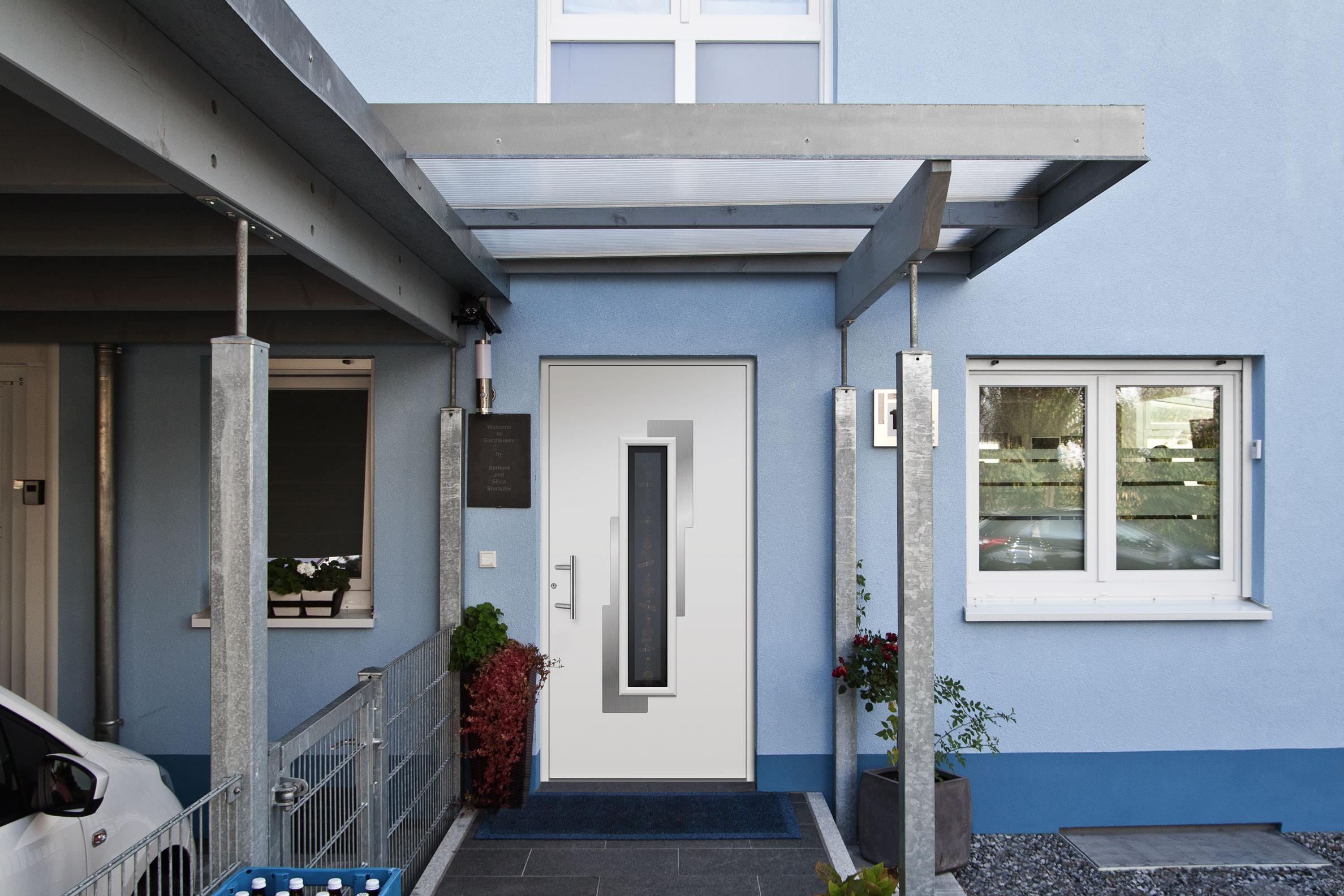 Beispiel für Hauseingangstür: Chagall 110L